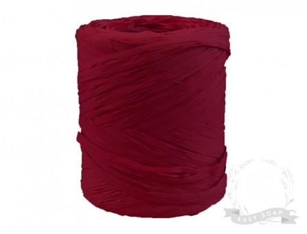 Лента рафия бордовый
