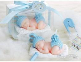 """Силиконовая форма для мыла """"Младенец на подушке"""" 3D"""